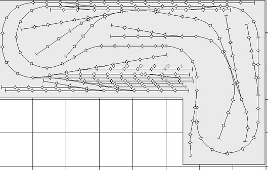 For you Model train track layout lines ~ Bistrain
